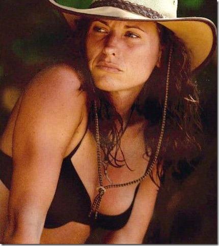 Jerri Manthey Australian Outback All Stars Heroes Vs