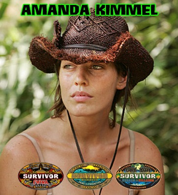 She has appeared on 3 seasons of Survivor on NBC.