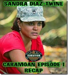 SandraDiazTwineCaramoanRecap