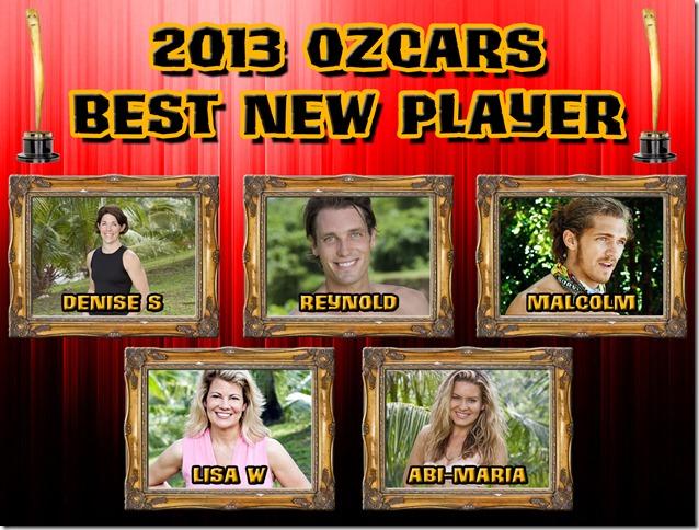 2013OzcarsFinalistsBestNewPlayer
