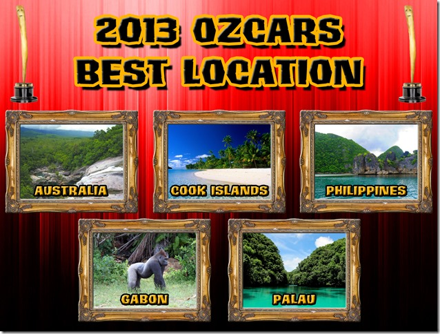 2013OzcarsFinalistsLocation