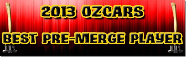 BestPreMergePlayer2013