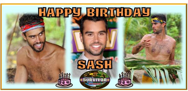 Happy Birthday Sash Lenahan! – Survivor Oz