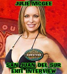 JulieMcGeeSanJuanDelSurExitInterview