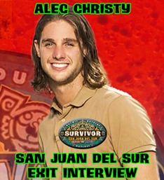 AlecChristySanJuanDelSurExitInterview