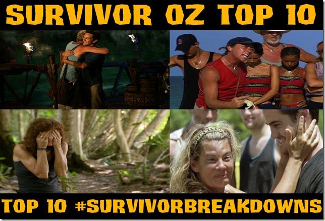 Top10#SurvivorBreakdowns