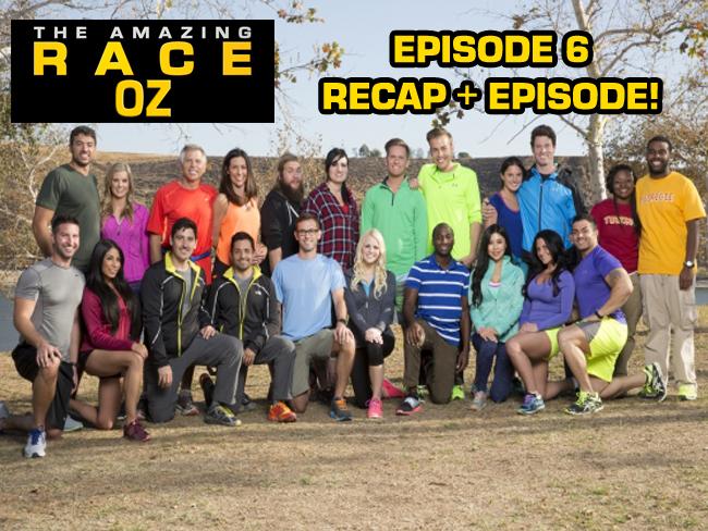 The amazing race oz us season 26 episode 6 recap survivor oz