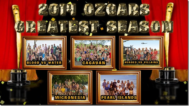 2014OzcarsFinalistsGreatestSeason