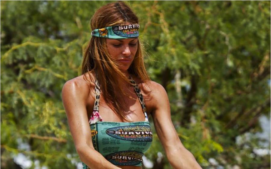 Women of survivor naked in water — 15