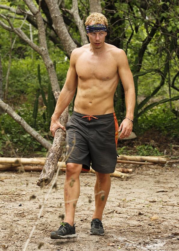 Nude male survivor contestants