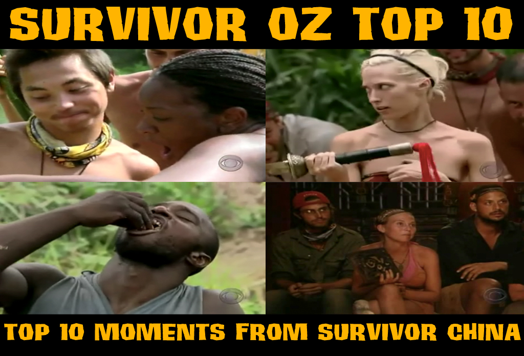 Top10SurvivorChinaMoments
