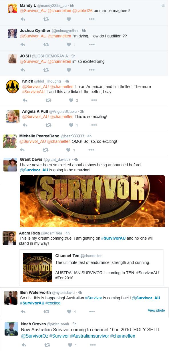 SurvivorAustraliaTwitterReaction